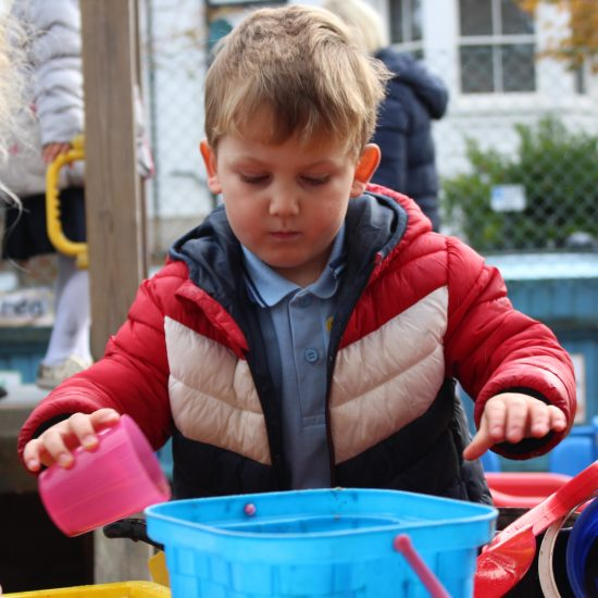Outdoor Play in Reception